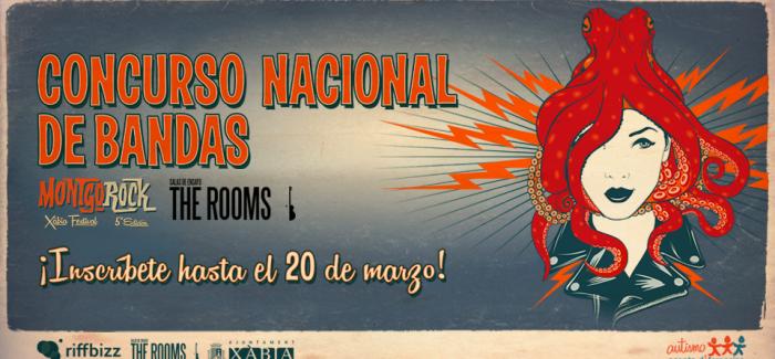 Arranca el Concurso Nacional de Bandas Montgorock Xàbia Festival