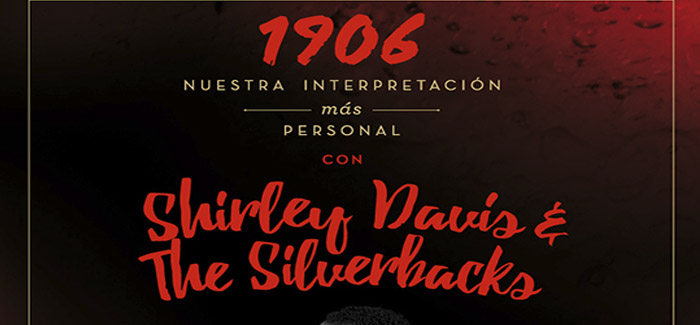 Shirley Davis & The Silverbacks en JAZZAZZA, Algezares.
