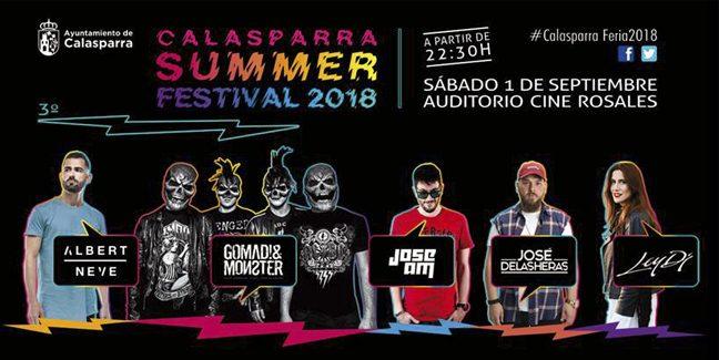 Vuelve el Calasparra Summer Festival